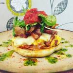 D'lush style scrambled eggs!