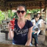Delicious strawberry juice at Don Biyu!!