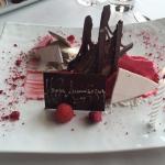 raspberry and Chocolate Parfait
