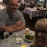 Inside the Aqua Restaurant at Wyndham Garden in Guntersville, AL. I was delicious, staff were gr
