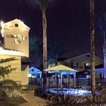 Coronado Inn at dusk