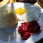 Must try!!!!!! Egg with tocino!!