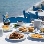 "Breakfast in our beach front restaurant ""The Cellar"""