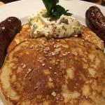 Whiskey Cream Pancakes