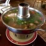 Pho Tak Combination Seafood Soup