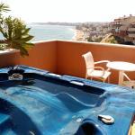 Vistas de la habitación, terraza privada con jazuzzi
