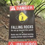 Same danger sign