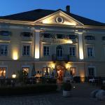 Abendstimmung vorm Lerchenhof - grandios!
