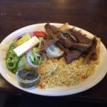 Gyro Dinner Platter