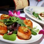 Citrus-Soy Glazed Scallops
