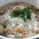 Moo noodle bowl