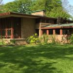 River Forest Home by Wright
