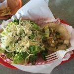 Fish & Veggie taco