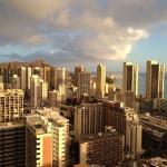 Diamond head and Waikki view