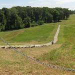 Walking up to Mound A
