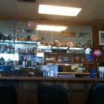 Counter at Cafe USA