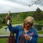 The grounds are beautiful and the Chardonnay is good !!