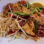 Pad Thai Vegetarian (no egg)
