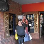 Front enterance to King Jerry Lawler's Hall of Fame Bar and Grill