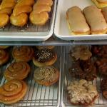 Twists, bars, cinnamon rolls and fritters