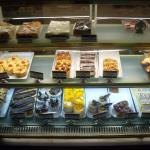 Some of the available desserts