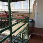 Walkway to terrace from community room