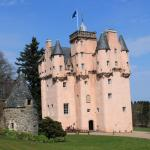 Craigievar Castle - just a few miles away