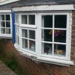 Rotting window frames