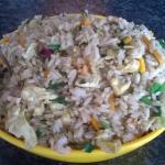 Chicken Prawn Fried Rice