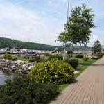 Walk by the municipal marina.