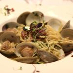 Linguni & clams- lunchtime favorite