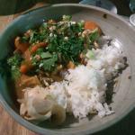Tofu Curry Bowl