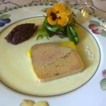 foie gras...avec pensée...