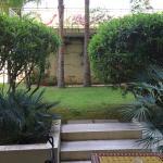Bagno e giardino privato