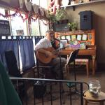 Live music on Saturdays! (even at 11 am!)