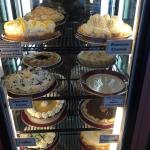 One of the pie display cases! So many choices!