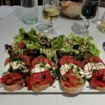 Bruschetta verdura maxi