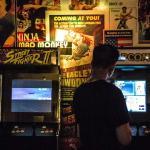 Retro arcade fun on our multi-games cabinets!