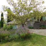le jardin, la chambre Valériane à droite