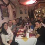 Fantastic Food and Atmosphere went xmas Eve