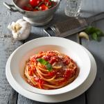 Spaghetti al Pomodoro - Traditional crushed tomato sauce, fresh basil