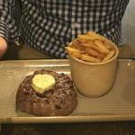 Steak et frites at Brasserie Blanc