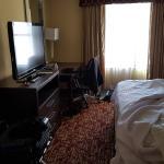 King bed in 2 bedroom suite