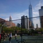 Con vistas al World Trade Center