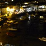 View into the harbour upon leaving The Ernie Lister Bar