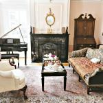 Make yourself comfortable in the elegant yet inviting Living Room. Enjoy a book or a cup of tea