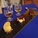 The Petite Grand dessert Chefs surprise. A combination of three small desserts, chosen by the ch