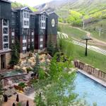 View from Studio Room, Marriott's Mountain Side, Park City, CA