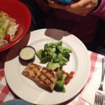 salmon w/ steamed veggies