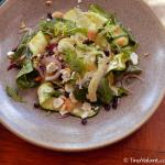 seasonal squash salad - lovely, flavorful, and colorful